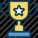 loyalty, trophy, winner, award, premium, star