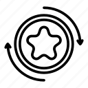 technology, hand, business, logo, money, bonus, exchange icon