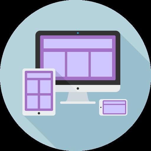 adaptive, design, grid, layout, tools icon