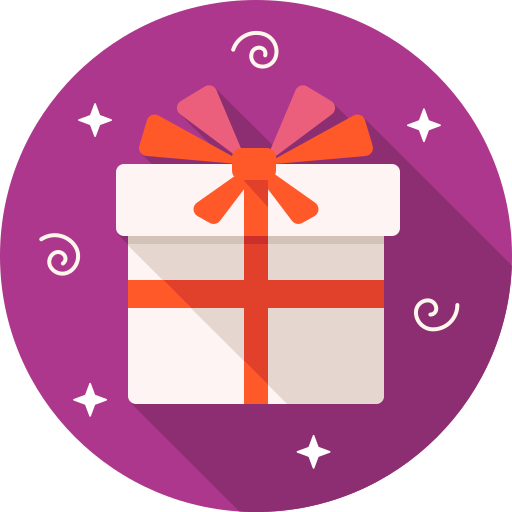 birthday, box, gift, package icon