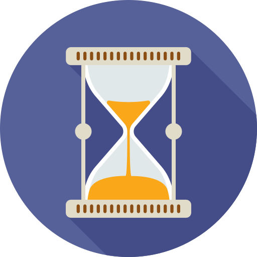 clock, hourglass, loading, time, watch icon