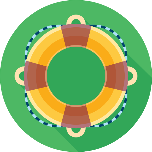 buoy, help, life, lifebuoy, support icon