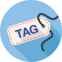 achievement, badge, label, tag icon