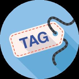 achievement, badge, label, tag icon