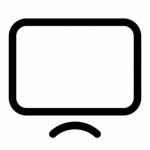 desktop, display, monitor, screen, tv icon
