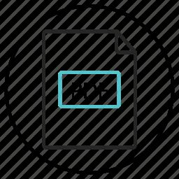 bill, document, ebook, file, invoice, pdf icon icon