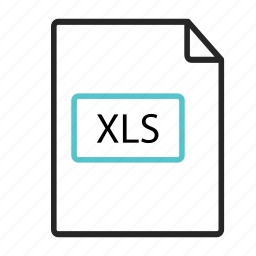 excel, extension, grid, microsoft, ms, processor, xls icon