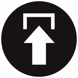 arrow, cloud, export, up, upload icon