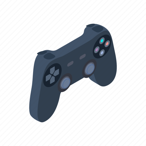 console, controller, game, gaming, isometric, joystick, video icon