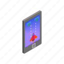 console, device, game, handheld, isometric, sign, style icon