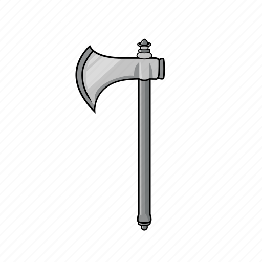 axe, cross axe, industrial, lumberjack, medieval, tool, weapon icon