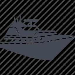 cruise, luxury, ship, vessel icon