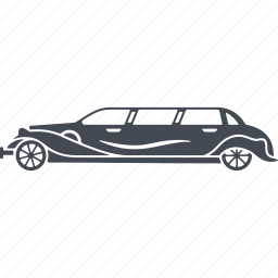 car, limousine, luxury, vehicle icon