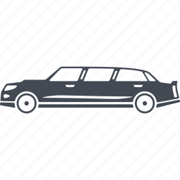 automobile, car, limousine, luxury, transport icon