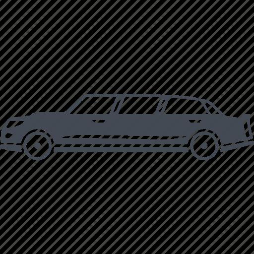 automobile, car, limousine, luxury, transport icon