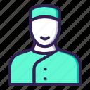 concierge, hotel, service icon