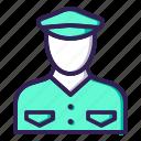 avatar, crew, pilot icon