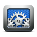 preferences, system, gears, settings, utilities, execute icon