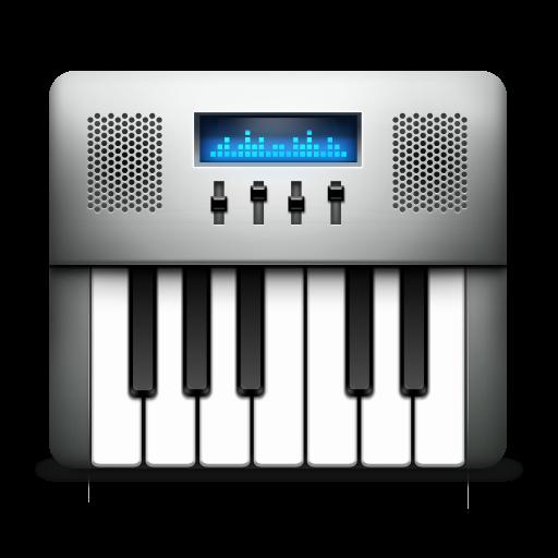 audio, keyboard, midi icon