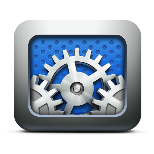 execute, gears, preferences, settings, system, utilities icon