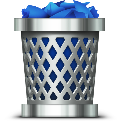 recycle bin, trash icon