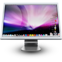 apple, cinema display, mac, monitor, screen icon