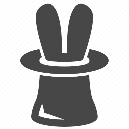 hat, magic, magician hat icon