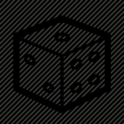 chance, cube, dice, game, games, magic, random icon