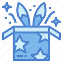 box, entertainment, magic, rabbit