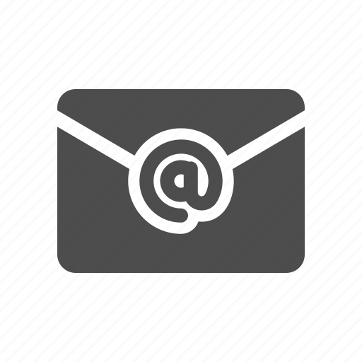 At, email, letter, mail icon - Download on Iconfinder