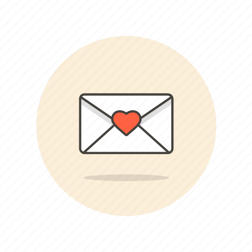 delivery, email, envelope, letter, love, mail icon