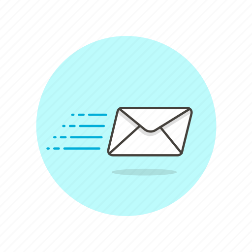 delivery, email, envelope, letter, send, transfer icon