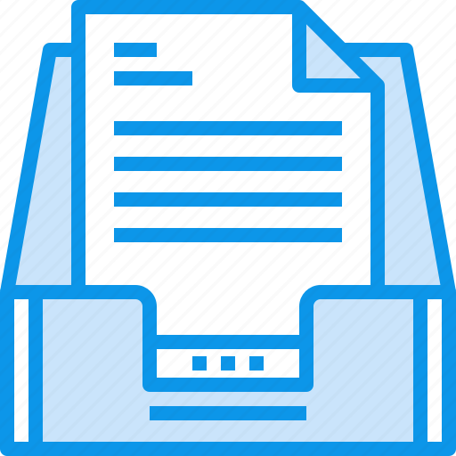 box, communication, document, inbox, letter, mail, message icon