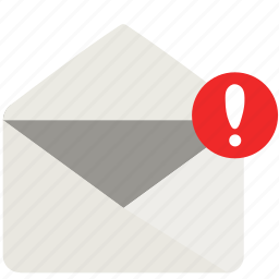envelope, mail, notification icon