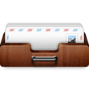 inbox, shelf icon