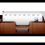 inbox, shelf icon