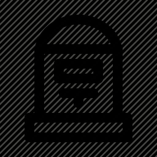 box, inbox, mail, message icon