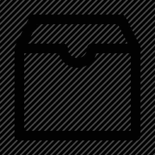 box, mail, parcel, shipment icon