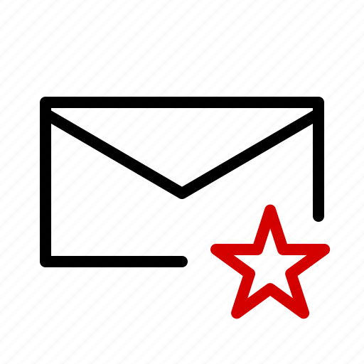 important, mail, message, notification icon