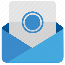dot, email, letter, mail, message, news icon
