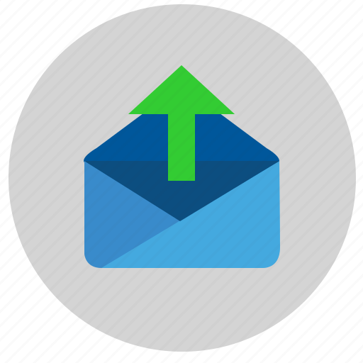 email, letter, mail, mailbox, outgoing, service icon