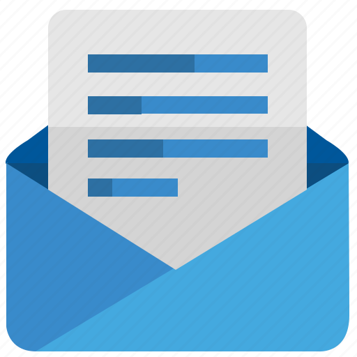 email, letter, mail, message, news, text icon