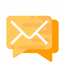 chat, forum, mail, message icon