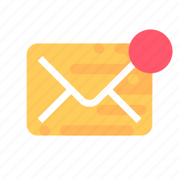 mail, message, notification, unread icon