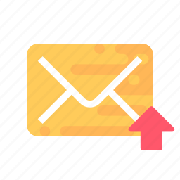 mail, message, sent icon