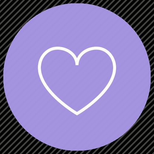 heart, like, likes, love icon