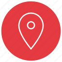 location, map, pin, pins icon