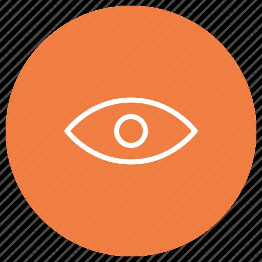 eye, seach, see, view, vision icon