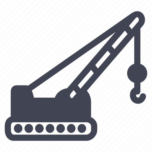 construction, crane, equipment, maintenance, tools icon