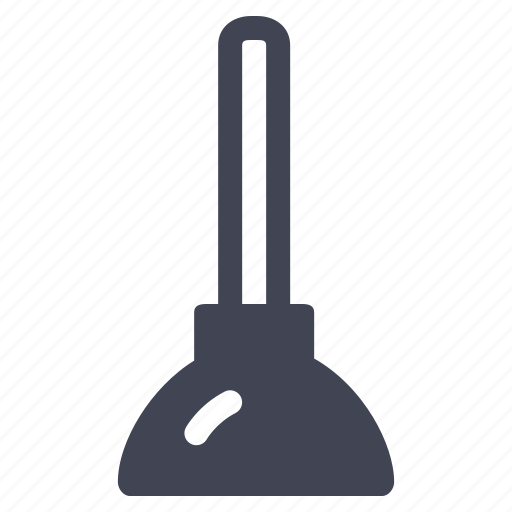 construction, equipment, maintenance, plunger, repair, tool, tools icon